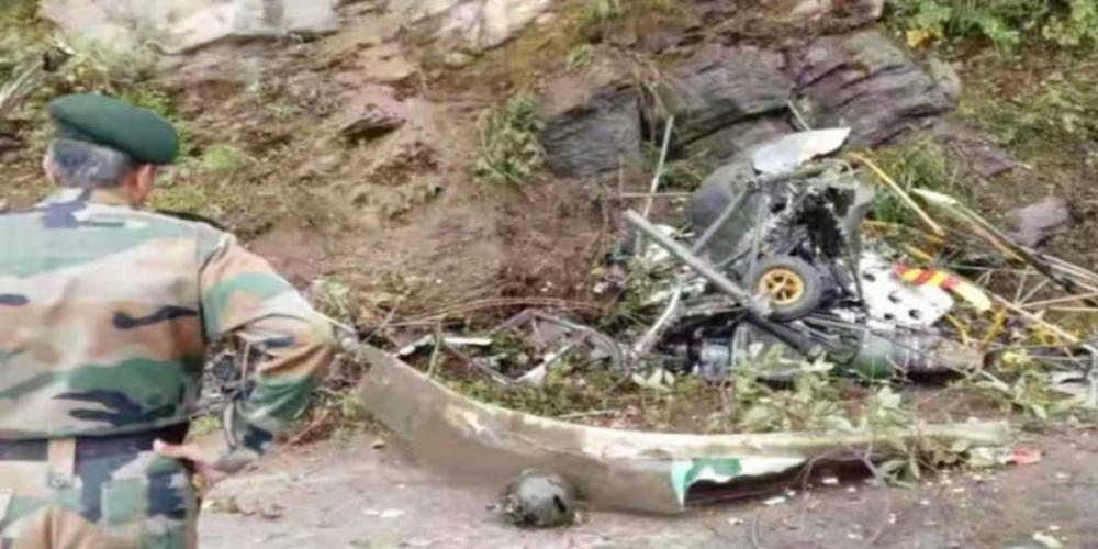 Indian Air Force fighter jet Mig-29 crashed