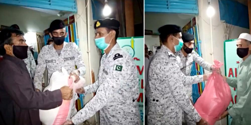Pakistan Navy Relief Operations