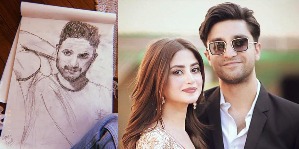 Sajal Ali sketch