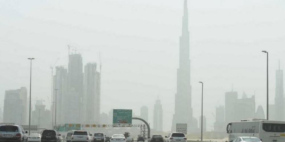 UAE dusty weather