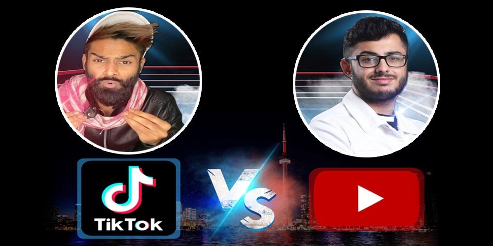 YouTube Vs TikTok: CarryMinati's roast video removed