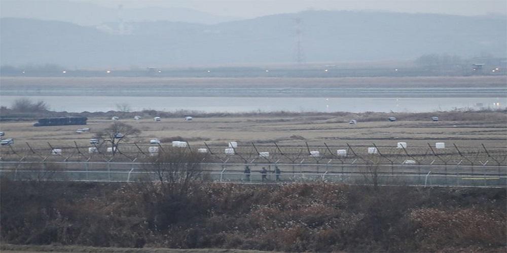 North & South Korea exchange gunfire, Trump 'glad' for Kim Jong-un's reappearance