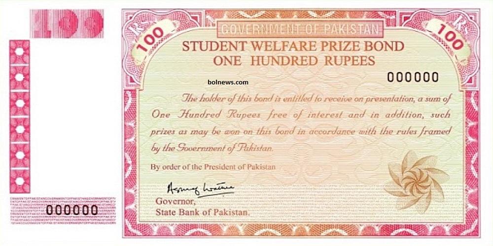 100 Prize bond Winner list 2020