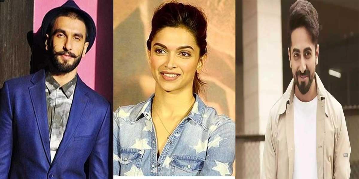 """bhabhi daant rahi hai"" Deepika scolds Ranveer for talking loudly with Ayushmann"