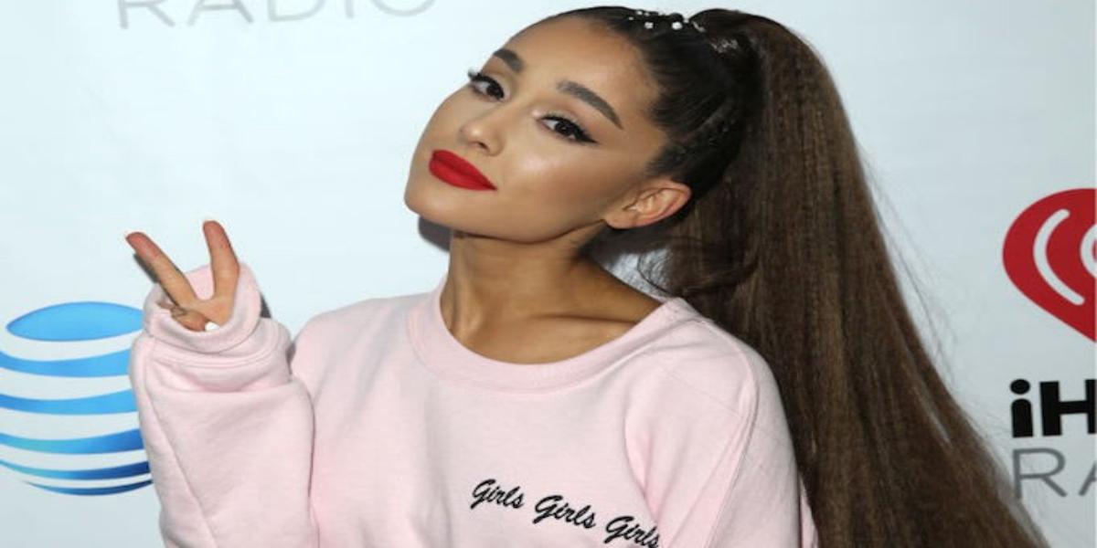 Ariana Grande positions