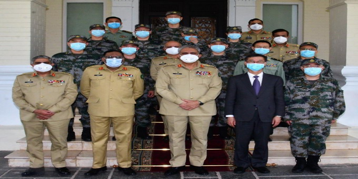 COAS calls on Chinese Army Medical Team