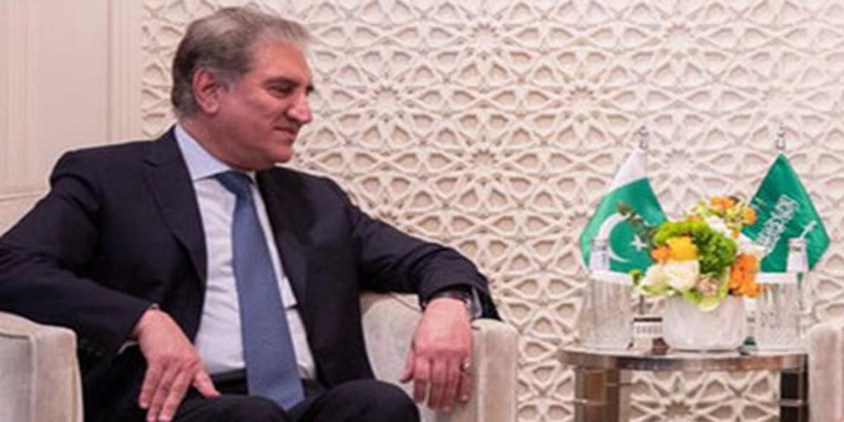 FM Shah Mahmood Telephones Saudi counterpart Prince Faisal