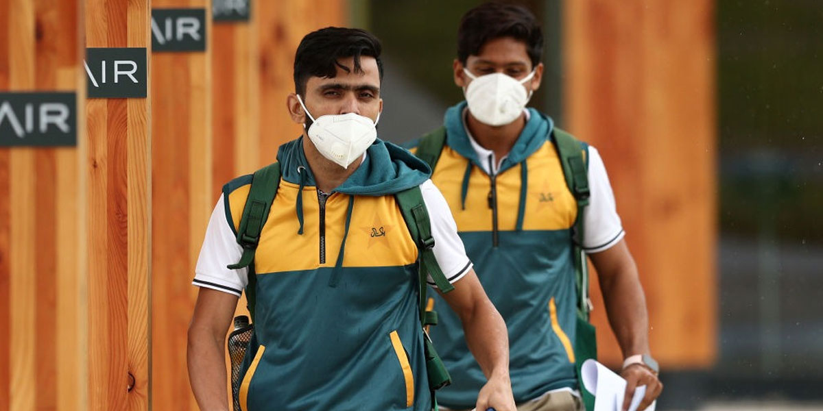 All Pakistani cricketers in England tested negative for COVID -19