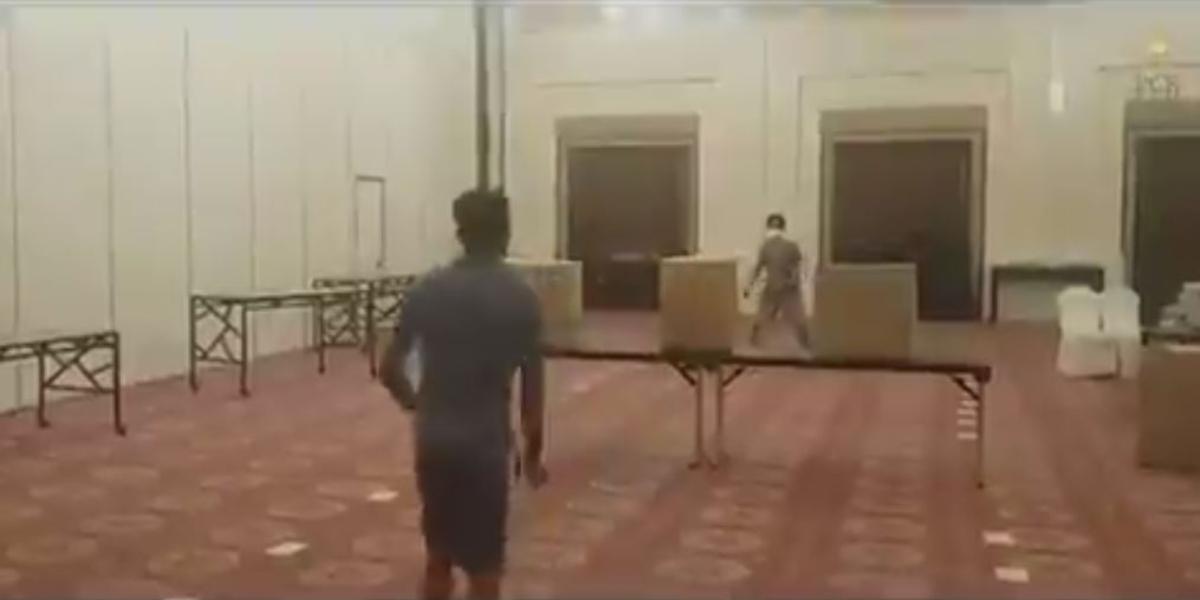 Pakistan squad badminton