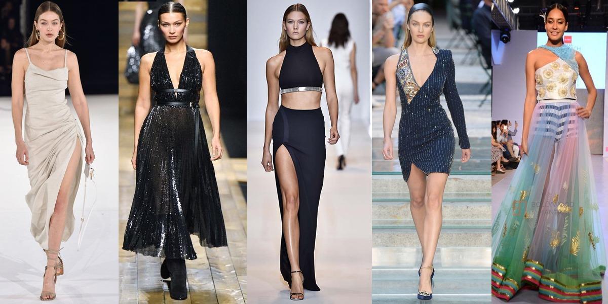 Models tripped on runway