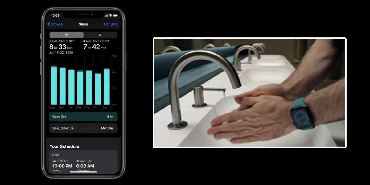 Apple watch now ensures you are washing hand for 20 seconds