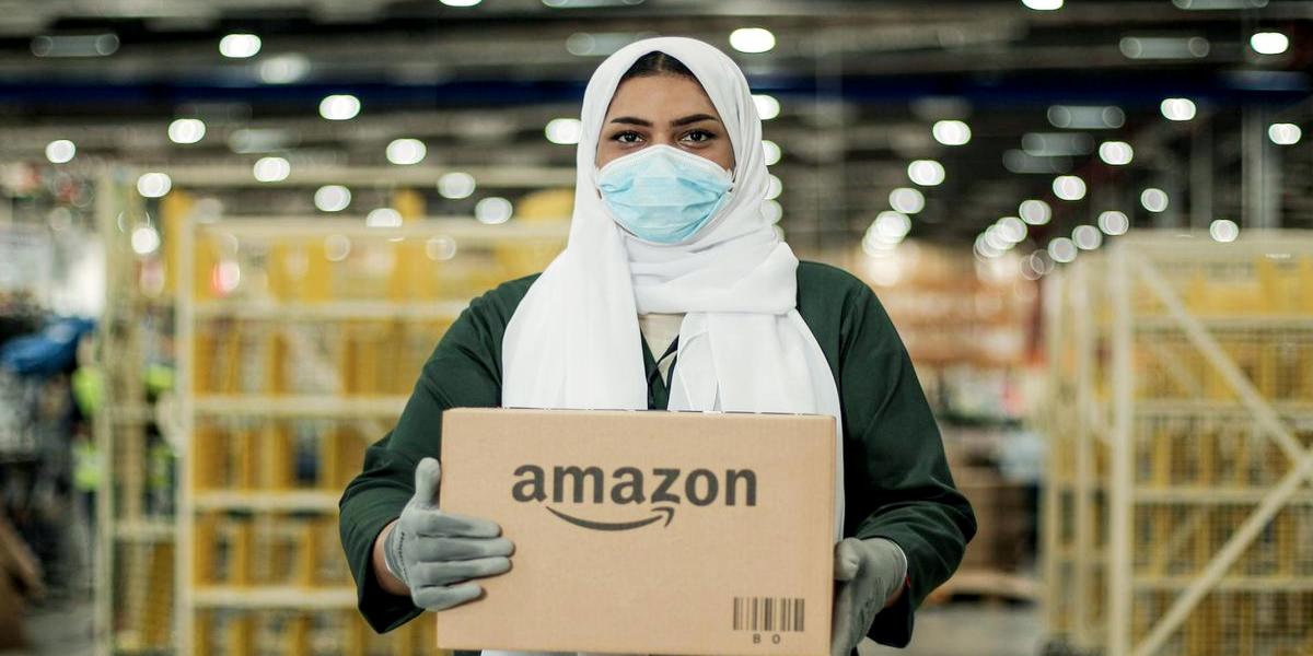 Amazon front-line workers coronavirus