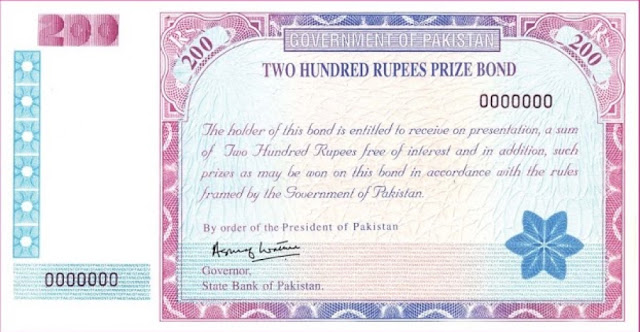 Complete list Of Rs 200 Prize bond