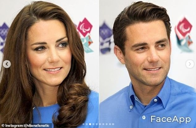 Fan uses FaceApp to turn the Royals into opposite gender