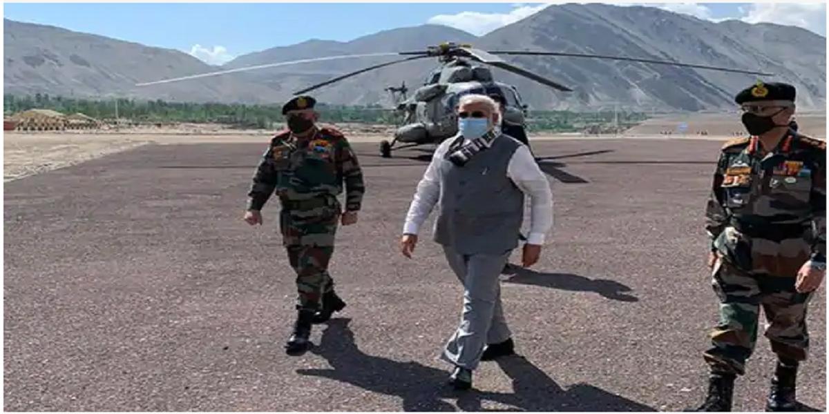 India-China clash: PM Modi visits Ladakh to meet troops