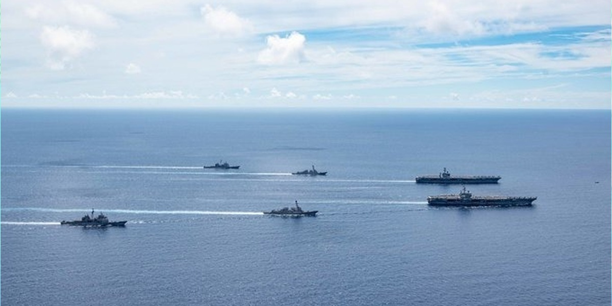 2 US aircraft carriers returns to South China Sea due to rising tensions