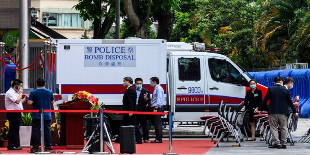 Hong Kong security law: China opens security office in Hong Kong