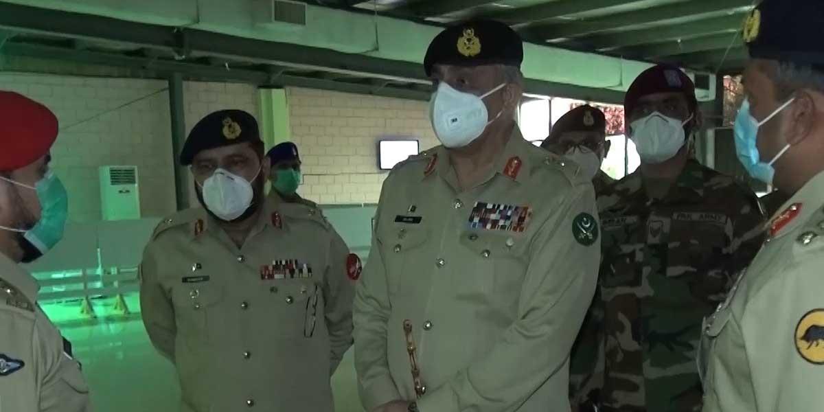 COAS visits Corps Headquarters Karachi, ISPR
