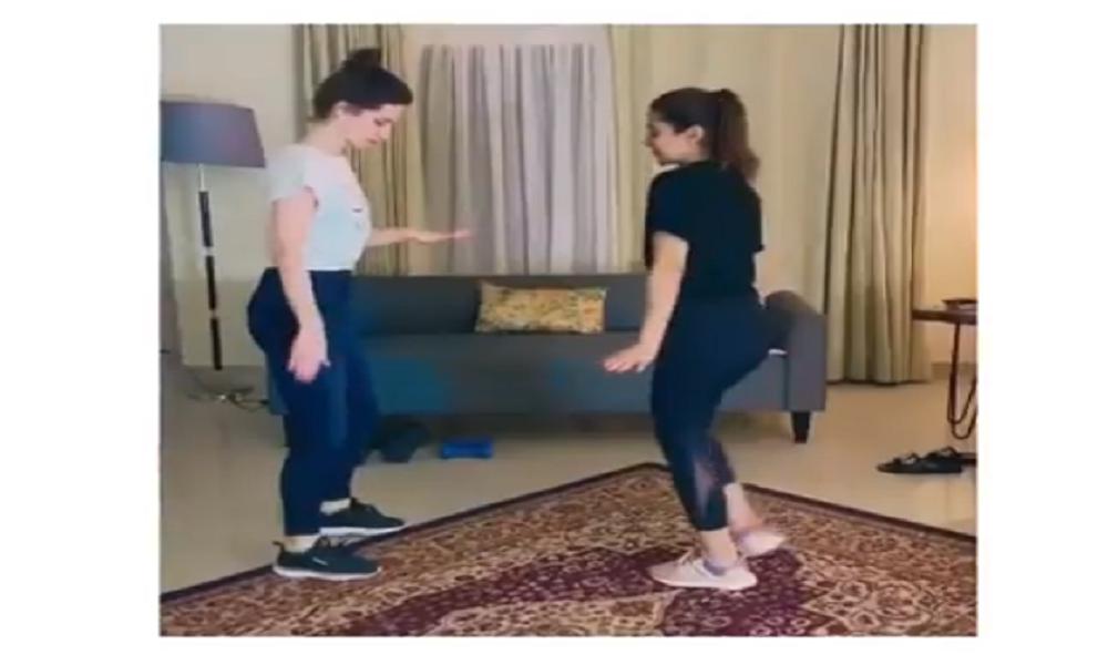 Ayesha Omer Shares Dance Video On Oh Na Na Nah song
