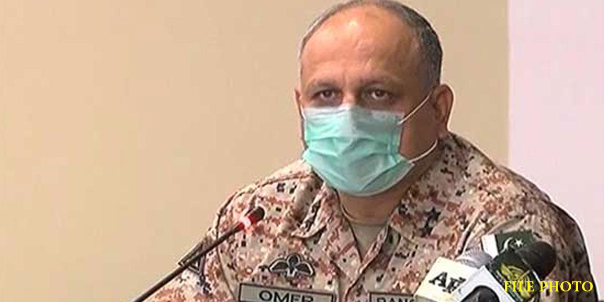 DG Rangers visits Central Police Office Karachi
