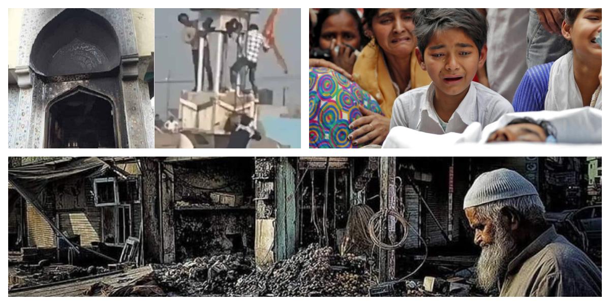 """Delhi riots: 9 Muslims killed for defying chanting """"Jay Shri Ram"""" slogan"""