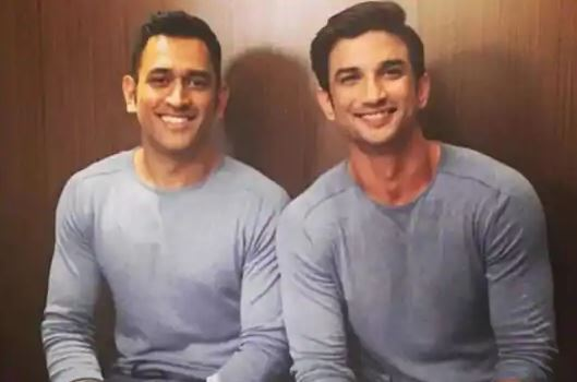 Dhoni and Sushant