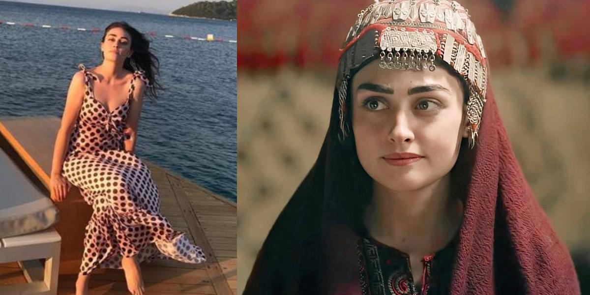 Esra Bilgiç summer dress