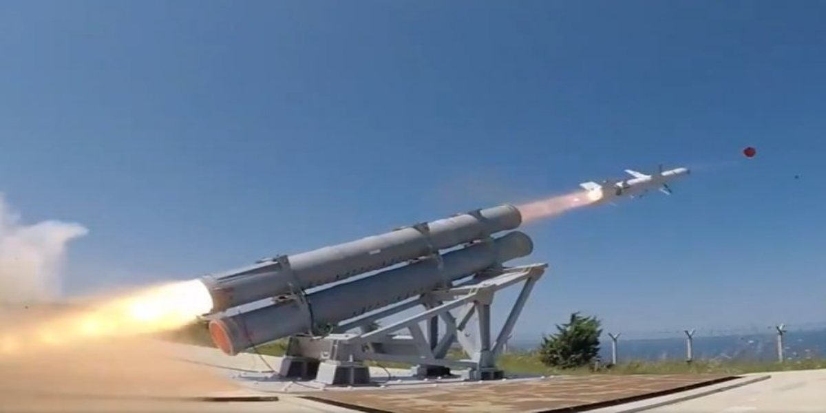Turkey successfully tests first naval missile