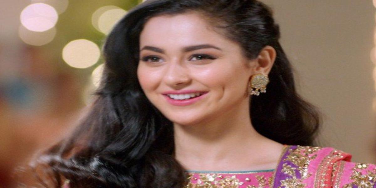 Hania Aamir singing