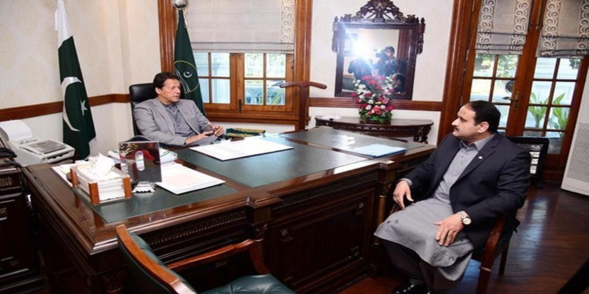 PM meets CM Usman Buzdar