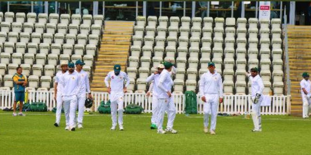 Babar Azam Pak practice match in England