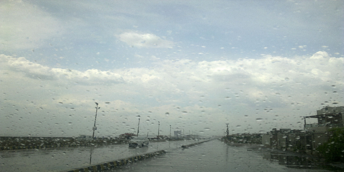 Northern areas to receive rain-thundershowers today