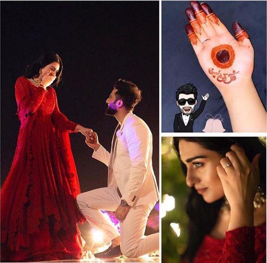 Sarah Khan Falak Shabir wedding