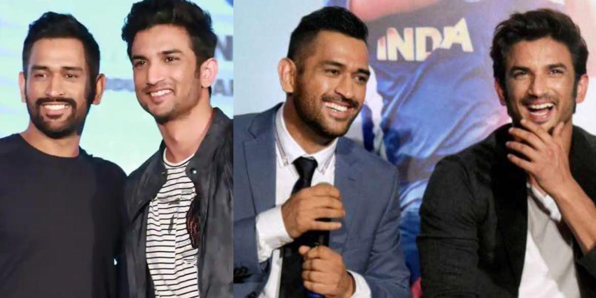 Dhoni birthday Tribute to Sushant Singh