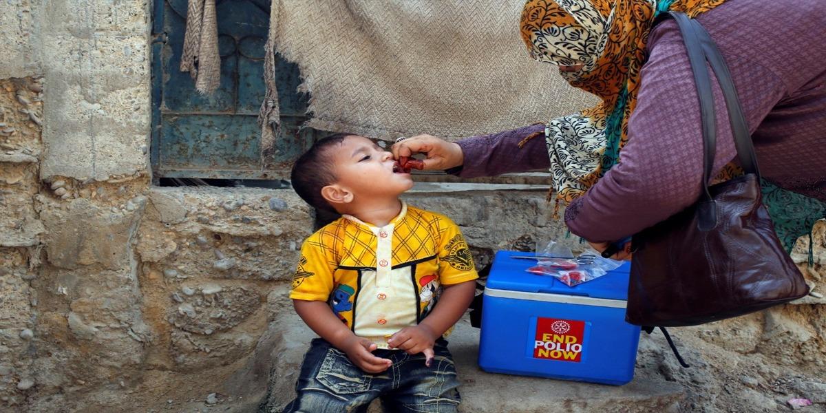 Anti-polio drive launched in Pakistan despite COVID-19 threats
