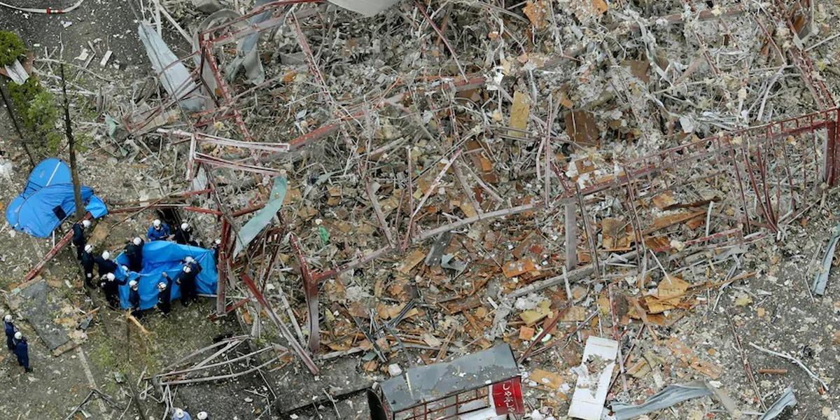 Explosion in Japanese restaurant kill 1, injuring 17