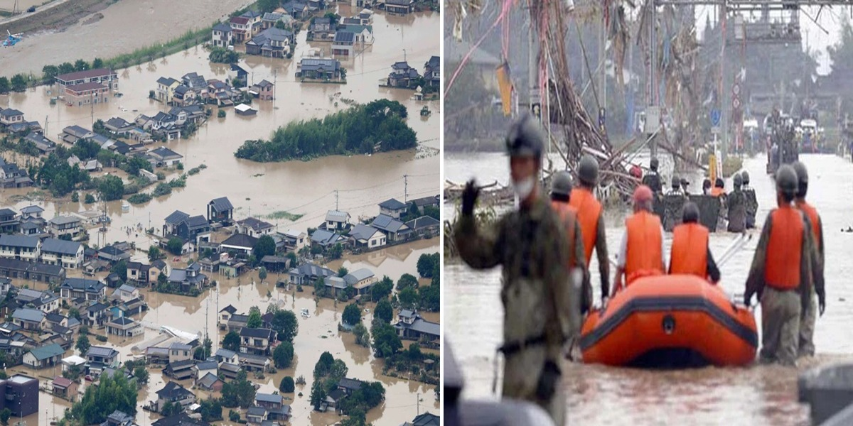 Japan: Death toll from torrential rains rises to 55, multiple missing