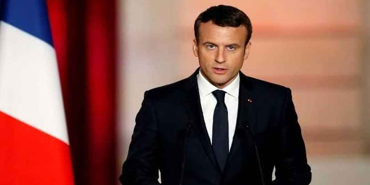 French President Macron demands Israel to abandon West Bank annexation plan