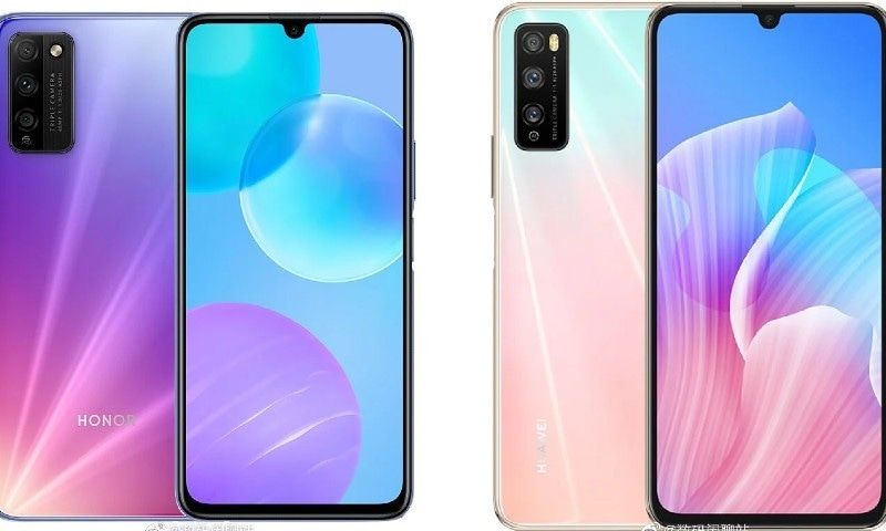 Huawei Honor offers 2 low priced 5G smartphones
