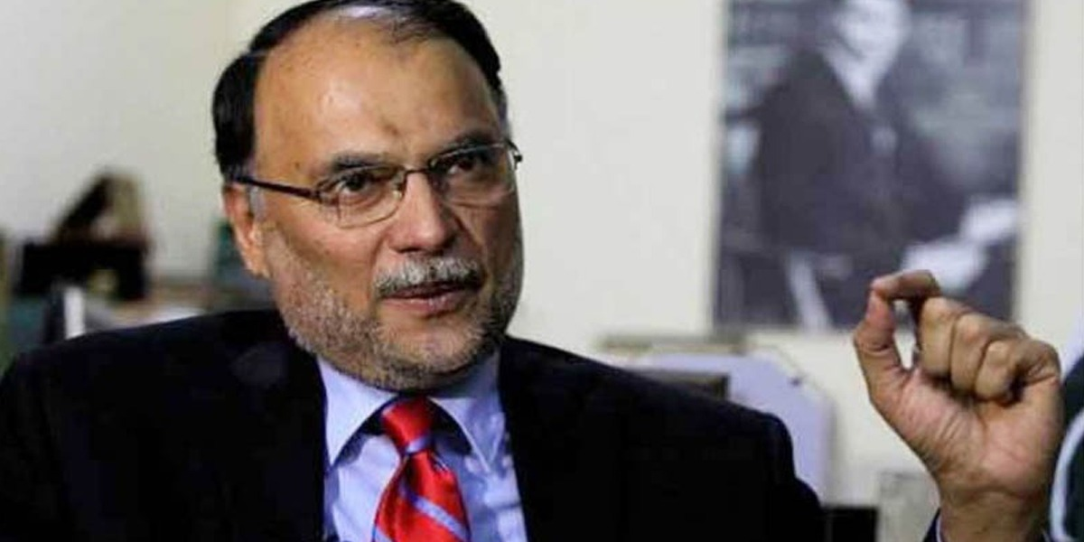 Ahsan Iqbal reaches Nab to file a reference against the Prime Minister