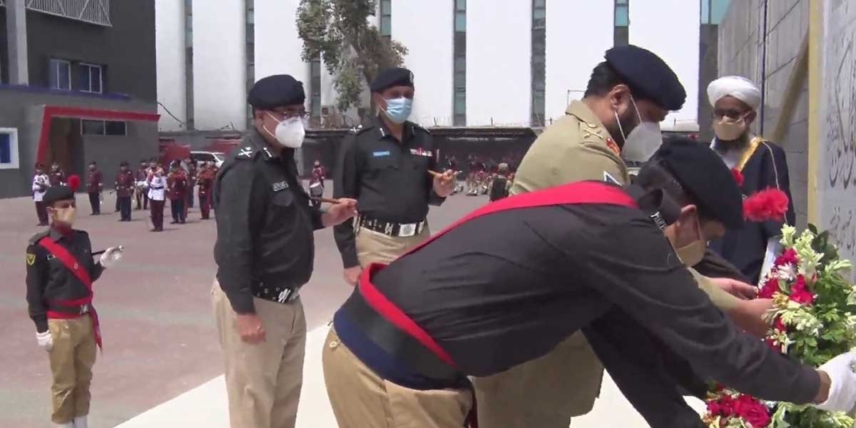 Corps Commander Karachi visits Central Police Office