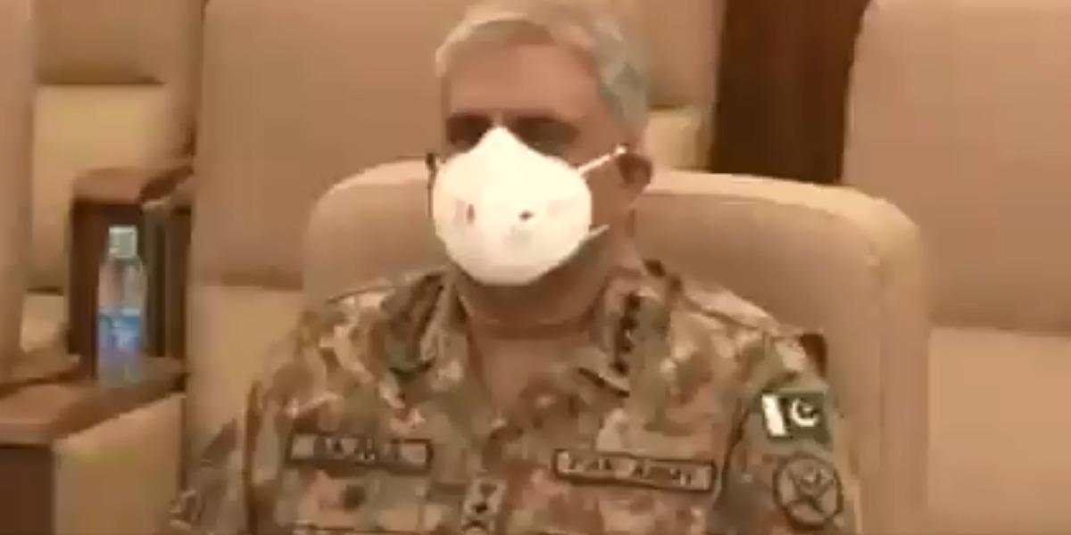 COAS General Qamar Javed Bajwa visits Corps Headquarters Peshawar