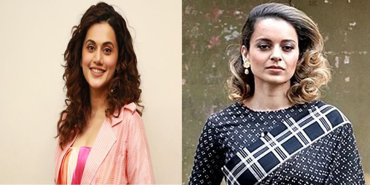 Nepotism: Kangna's team launches fresh attack on Taapsee Pannu