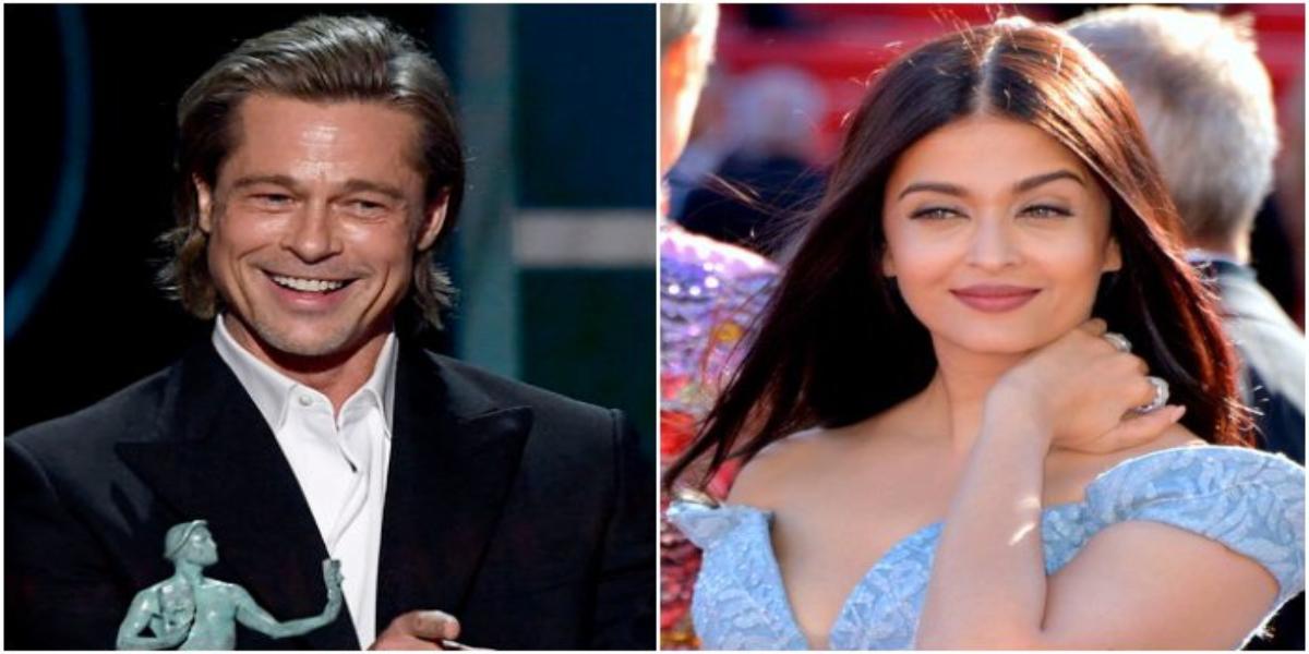 Brad Pitt Aishwarya Rai