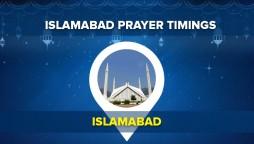 Islamabad Namaz Timings – Today Prayer Time Table Islamabad