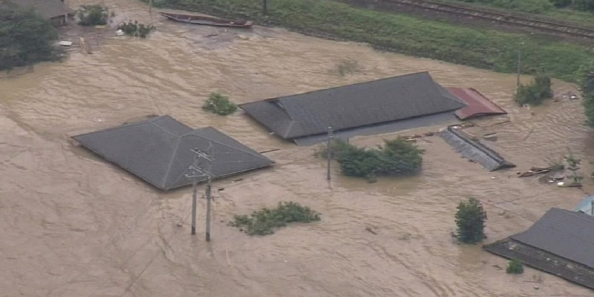 Severe flooding in nursing home cause deaths in Japan