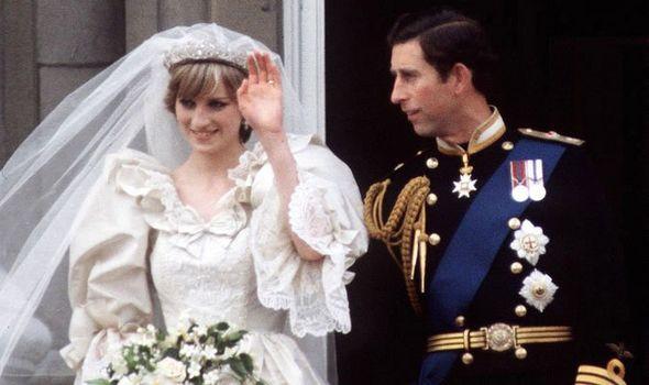 Princess Diana Charles wedding