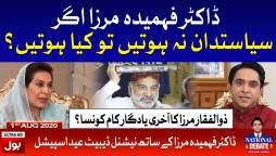 Dr Fahmida Mirza Interview with Jameel Farooqui Full Episode 1st August 2020
