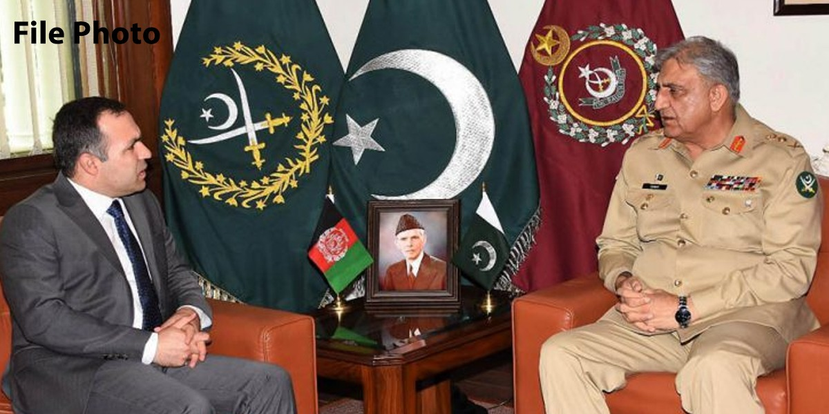 COAS calls on General Qamar Javed Bajwa Afghan Ambassador to Pakistan