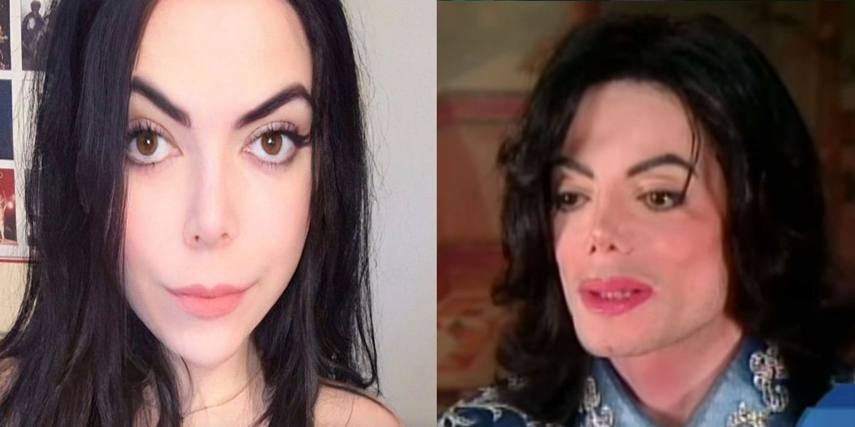 Teenage girl gains popularity as she resembles Michael Jackson